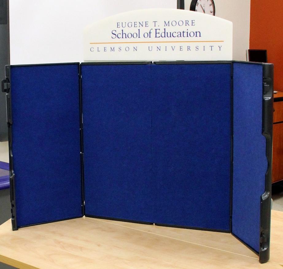 School of Education Tri-Fold Board