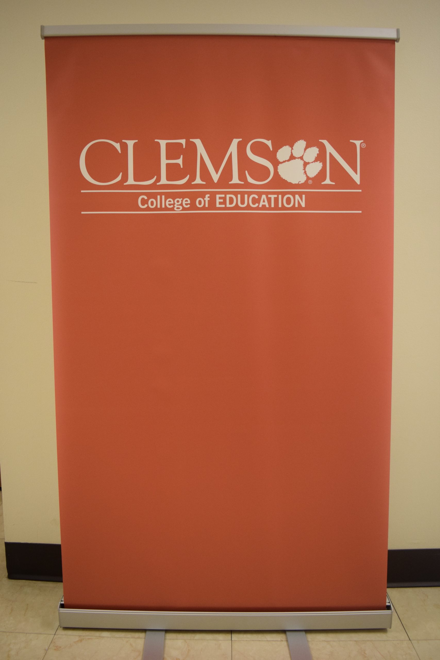 Clemson College of Education banner