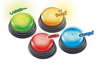 Learning Resources Lights & Sounds Buzzers
