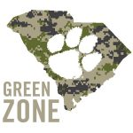 Clemson University green zone trained icon